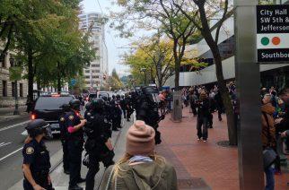 Organizers Protest Against Portland Police Bureau