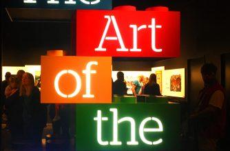"""""""Art of the Brick"""" at OMSI"""