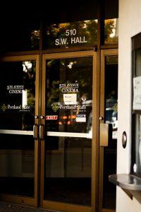 Door of 5th Avenue Cinema