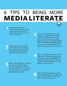 6 Tips to being more media literate