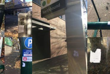 Racist stickers all over PSU Campus